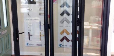Highly secure bi-fold doors