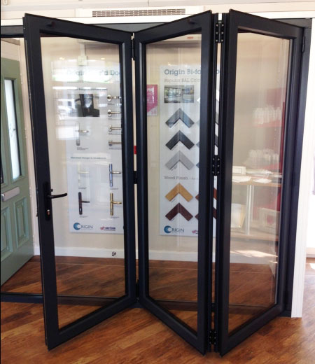 Highly secure bi-fold doors