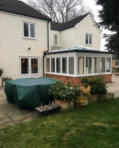 New orangery and replacement windows in Ripley
