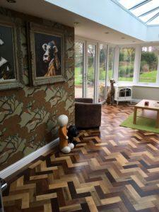 Orangery Ripley Derbyshire indoors