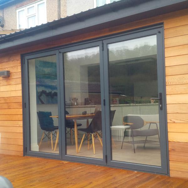 Aluminium bifold doors Nottingham