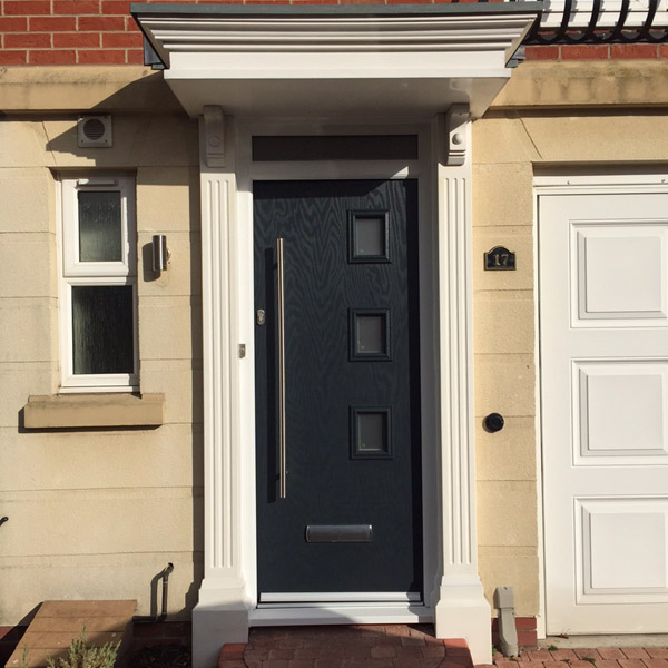 Composite door Debry