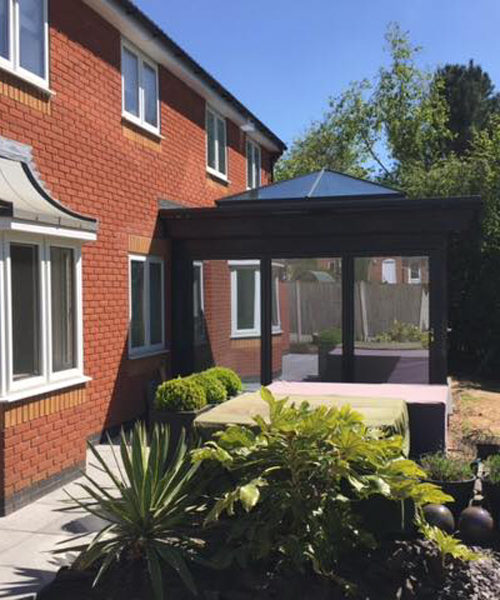 New orangery and extensions in Ravenshead