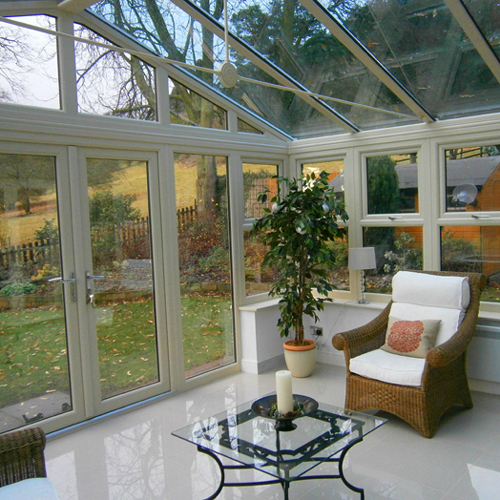 Conservatory Nottinghamshire interior